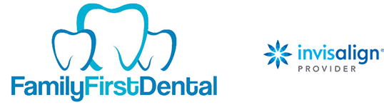 family first dental Invisalign combination logo